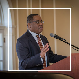 Dean and University Librarian Jerome Conley will receive the Honorary Alumni Award from the Miami University Alumni Association on Thursday, May 3, 2018 at the Annual Advancement Awards Banquet.