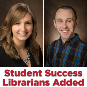Libraries announce addition of two student success librarians